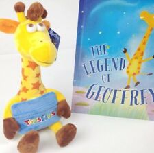 "TOYS R US Geoffrey Plush 13"" Gift Card Holder & The Legend Of Geoffrey Book"