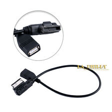 AUX Media Interface USB Cable AMI Adapter Flash Drive MP3 for Mercedes-Benz