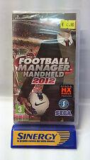 "PSP SONY ""FOOTBALL MANAGER HANDHELD 2012"" versione italiana,nuovo sigillato"