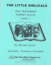 Little Biblicals Old Testament Bible Ministry Puppet Plays