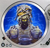 "Iron Maiden Eddie #7 Mummy Turntable Slipmat 12"" LP Record Player Slip Mat x1"