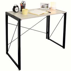 Ezigoo Home Office Stylish Portable Laptop Folding Writing Study Computer Desk