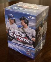 2020 Topps Chrome Baseball Blaster Box. Brand New Factory Sealed. Fast Shipping