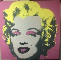 Andy Warhol Marilyn Monroe Sunday e Morning 91,4 cm con certificato