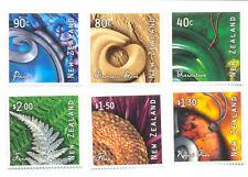New Zealand-Art from Nature set (2402-7) mnh Art
