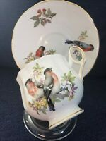 Royal Dover  / English Fine Bone China Teacup And Saucer Set