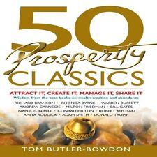 NEW 10 CD 50 Prosperity Classics Tom Butler-Bowden