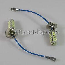 2 x Bombillas 68 LED SMD H3 Coche Antiniebla Luz Dia DRL. Bombilla Blanco Xenon