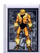 2014 Marvel Universe Diamond Parallel  #11 Sabretooth card  05/10