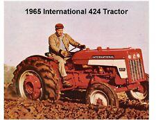 1965 International 424 Tractor Tool Box  Magnet