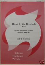 Accordion Duet Sheet Music: Down by the Riverside