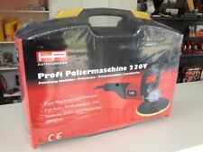 Profi Poliermaschine 230 V 1100 W 1000 - 3000 U/min inkl. Zubehör im Koffer