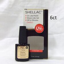 CND Shellac Gel Polish TOP COAT .5oz/15ml  ~ 6ct ~ Large @@SALE@@