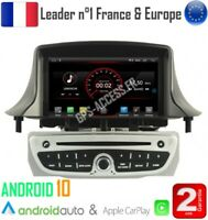 Autoradio GPS Android 10 Renault Megane 3 & Fluence