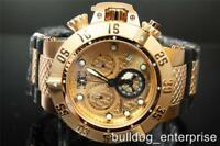 Mens Invicta Subaqua Noma III Rose Gold Chronograph Swiss Made Watch New