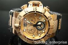 Mens Invicta Subaqua Noma III Rose Gold Chronograph Swiss Made Watch New