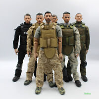 1/6 Scale 12inch/30cm SWAT Soldier figure toys Activity dolls With Accessories