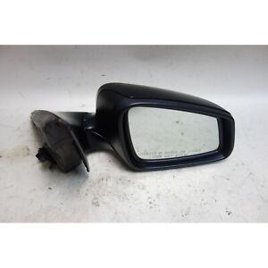 2011-2013 BMW F10 5-Series Right Outside Power-Folding Side Mirror Jet Black 2