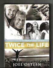 JOEL OSTEEN Twice the life (2008, 2 DVD, 2 CD) Christianity