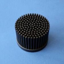 LED Stift-Kühlkörper ø 80 x 52 mm Kühler Pin Fin Heatsink Alu schwarz eloxiert