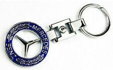 Mercedes-Benz key chain Keyring Blue Style light weight exquisite look good gift