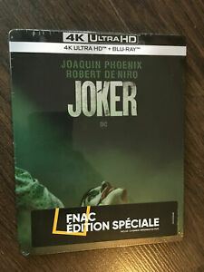Joker Steelbook Edition Spéciale Fnac Blu-ray 4K Ultra HD Collector
