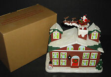 VNT AVON Countdown to Christmas Advent House Animated/Musical ORIGINAL PACKING