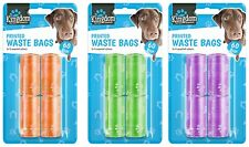 60 DOGGY POO BAGS Pet Pooper Scooper Bag Dog Cat Waste Toilet Poop Tie no handle
