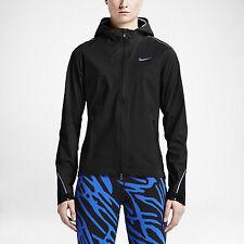 New NIKE Hyper Shield Light Women's Running Jacket Black 746679 010, Size XS