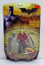 Batman Begins Ra's Al Ghul Red Tunic Variant Mattel NIP 4+ 2005 5 inch S199-7