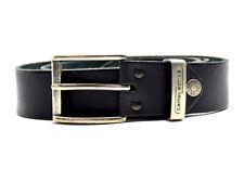 Camel Active Mens Leather Belt Black Size M