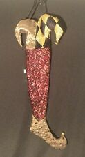 Katherine's Collection Wayne Kleski Retired Jester Stocking NOS