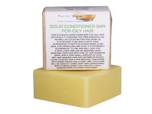 Solid Conditioner Bar For Oily Hair, Travel Size 1 Bar Of 65g