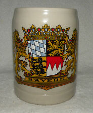 "Authentic VINTAGE German Beer Mug  - Marked ""Bayern"" - Made in West Germany"