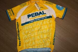 PRIMAL PEDAL THE CAUSE ADULT MENS CYCLING JERSEY SPORT CUT FULL ZIP LARGE NEW