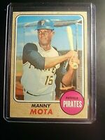 1968 Topps #325 Manny Mota Pirates NrMt NM High Grade