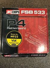 PC Chips P4 Motherboard Model M925 FSB 533 New Sealed Bag Open Box