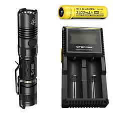 Nitecore P12GT Flashlight CREE XP-L HI V3 LED w/D2 Charger & NL189 Battery