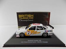ATLAS BRITISH TOURING CAR CHAMPIONS VAUXHALL CAVALIER JOHN CLELAND MINT BOXED