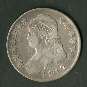 US Coin 1812 Early Bust Half Dollar NO RESERVE!