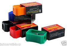 40x Nataraj 621 Pencil Sharpener 5 Color Home School Office Stationary