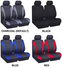 PAIR LIGHT WEIGHT NEOPRENE SEAT COVERS FOR RENAULT SCENIC RX4