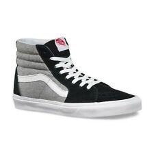 VANS SK8 Hi (Wool Sport) Black Gray Men's Classic Skate Shoes SIZE 11