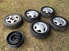 Renault 5 GT Turbo PH2 Speedline Alloy Wheels Spare Steel Wheel Cup Full Set