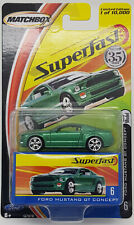 Matchbox New Superfast 2004 #6 Ford Mustang GT Concept MOC