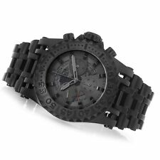 Invicta JT Chaos Combat 52mm Black Steel Jason Taylor Chronograph LE Watch NWT