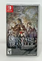 Octopath Traveler (Switch, 2018) Square Enix New Unopened Ships in a Box