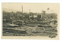 RPPC Tornado Damage WILKES BARRE PA Luzerne County Real Photo Postcard 4