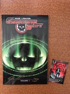 Graveyard Shift Vol 1 w/ Trading Card NM+ VERY RARE! - Comicsgate