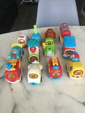 GROS LOT 10 TUT TUT BOLIDES TRAIN TRACTEUR AVION CAMION POMPIER AMBULANCE  ++